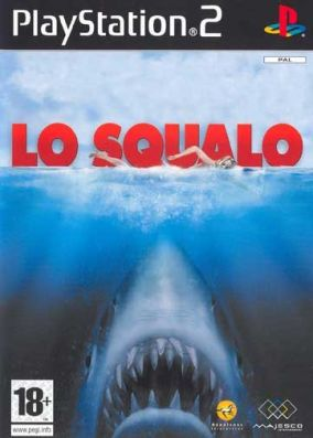 Copertina del gioco Jaws lo Squalo per Playstation 2