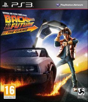 Copertina del gioco Back to the Future: The Game per Playstation 3