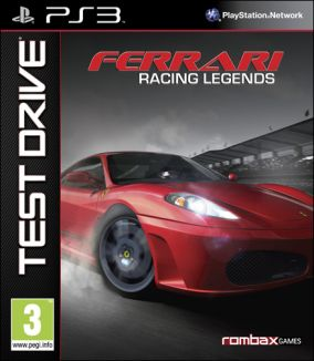 Immagine della copertina del gioco Test Drive: Ferrari Racing Legends per Playstation 3