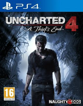 Copertina del gioco Uncharted 4: A Thief's End per Playstation 4