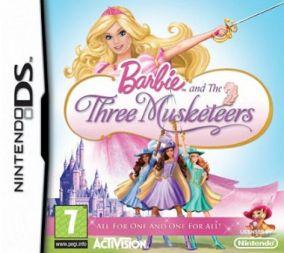 Copertina del gioco Barbie & Le 3 Moschettiere per Nintendo DS