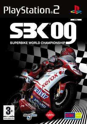 Copertina del gioco SBK 09 Superbike World Championship per Playstation 2