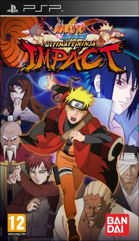Copertina del gioco Naruto Shippuden: Ultimate Ninja Impact per Playstation PSP