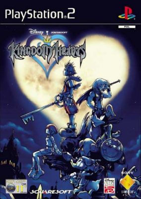 Copertina del gioco Kingdom Hearts per Playstation 2
