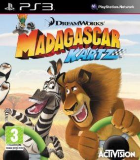 Copertina del gioco Madagascar Kartz per Playstation 3