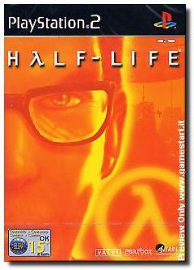 Copertina del gioco Half life per Playstation 2
