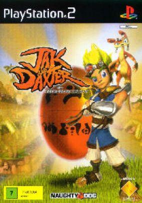 Copertina del gioco Jak and Daxter per Playstation 2