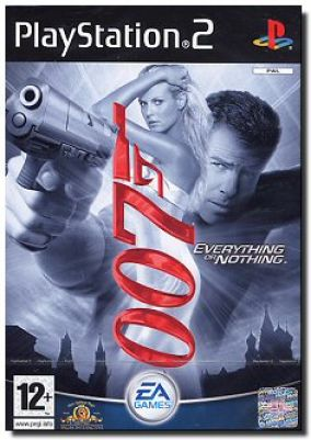 Copertina del gioco James Bond 007: Everything or Nothing per Playstation 2