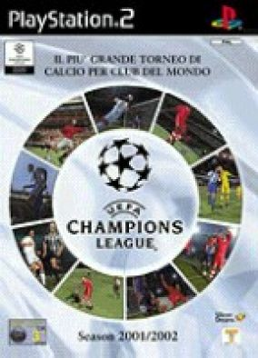 Copertina del gioco UEFA Championships league 2001 - 2002  per Playstation 2