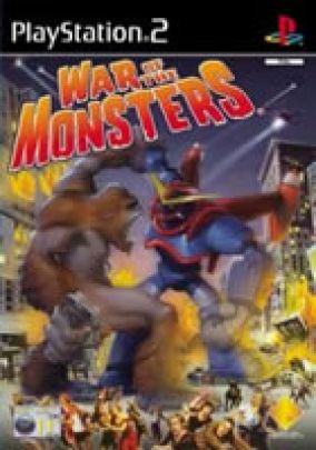 Copertina del gioco War of the monsters per Playstation 2