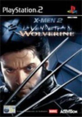 Copertina del gioco X-MEN 2 La vendetta di Wolverine per Playstation 2