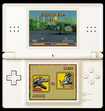 Immagine 1 del gioco Dinosaurs: Combattimenti fra Giganti per Nintendo DS