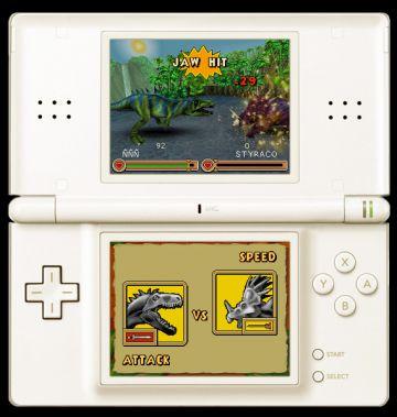 Immagine 3 del gioco Dinosaurs: Combattimenti fra Giganti per Nintendo DS