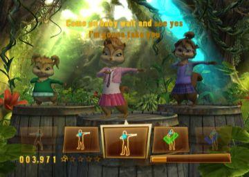 Immagine 2 del gioco Alvin & The Chipmunks per Nintendo Wii