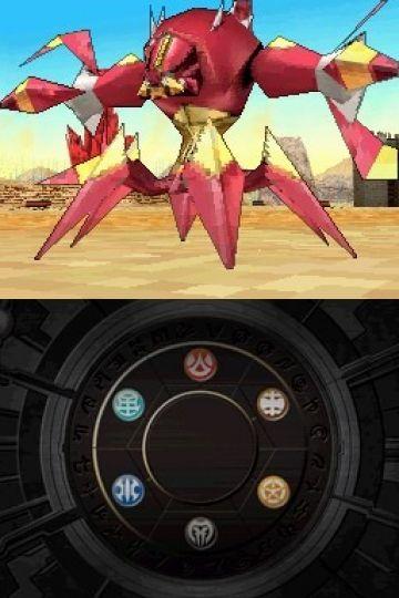 Immagine 2 del gioco Bakugan Battle Brawlers: I Difensori della Terra per Nintendo DS