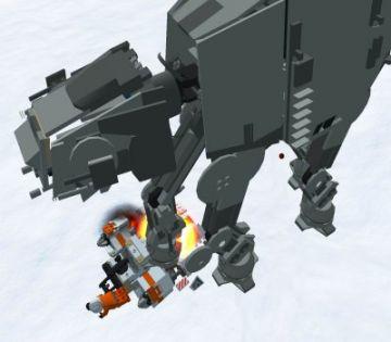 Immagine 3 del gioco LEGO Star Wars 2: La trilogia classica per Playstation 2