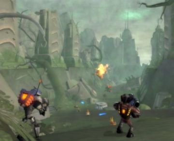 Immagine 2 del gioco Ratchet: Gladiator per Playstation 2