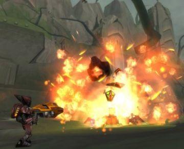 Immagine 3 del gioco Ratchet: Gladiator per Playstation 2