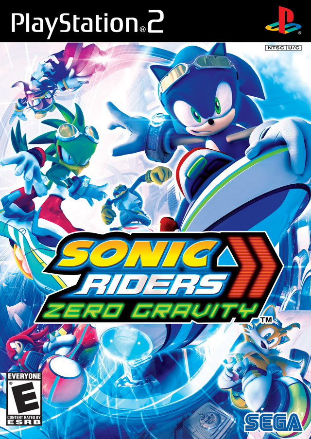 Sonic riders download (2006 simulation game).