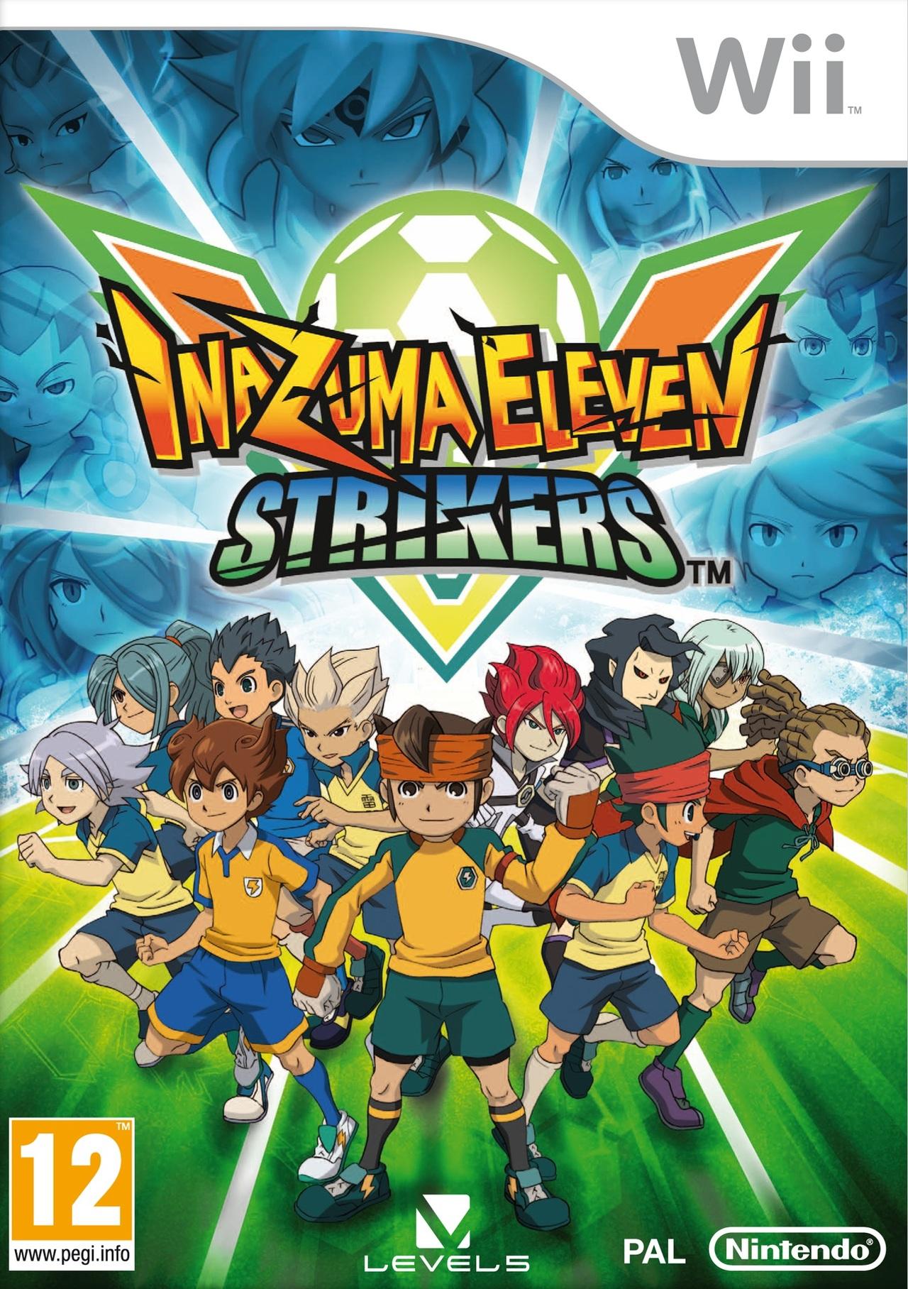 Copertina Inazuma Eleven Strikers