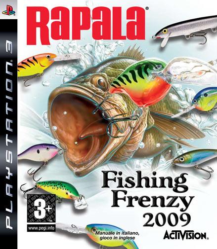 Rapala fishing frenzy per ps3 for Playstation 4 fishing games