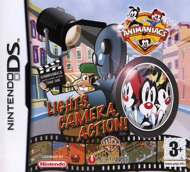 Animaniacs Lights Camera Action