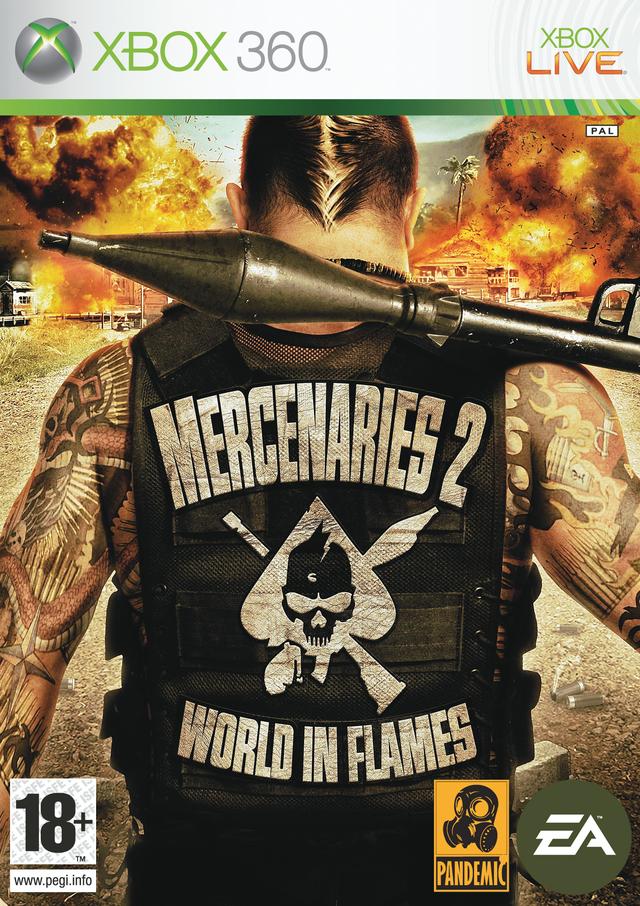 Mercenaries 2 Inferno Di Fuoco Per X360