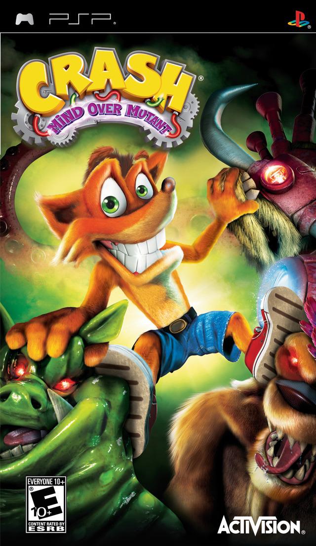 copertina Crash Bandicoot: Il Dominio sui Mutanti
