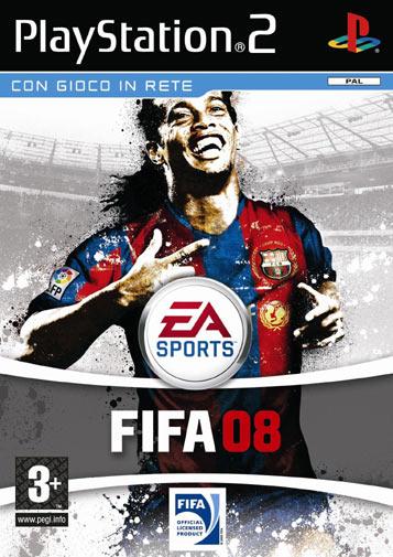 copertina Fifa 08