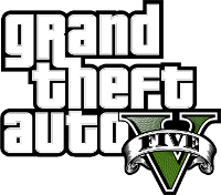 Logo del gioco Grand Theft Auto V - GTA 5 per PlayStation 3