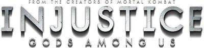 Logo del gioco Injustice: Gods Among Us per PlayStation 3