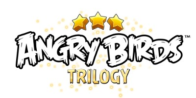 Logo del gioco Angry Birds Trilogy per PlayStation 3