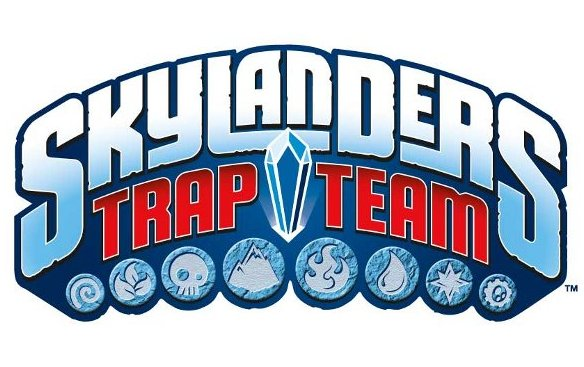 Logo del gioco Skylanders Trap Team per Xbox 360