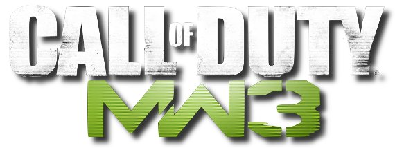 Logo del gioco Call of Duty: Modern Warfare 3 per Nintendo Wii