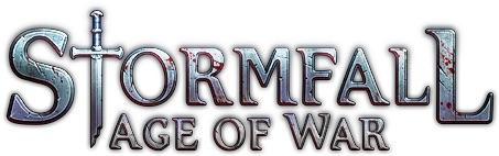 Logo del gioco Stormfall: Age of War per Free2Play
