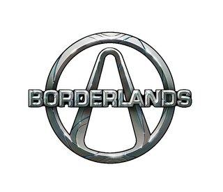 Logo del gioco Borderlands per Xbox 360
