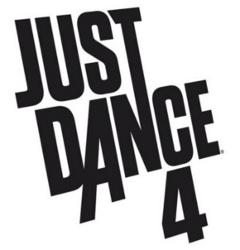 Logo del gioco Just Dance 4 per Nintendo Wii