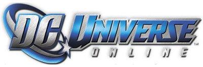 Logo del gioco DC Universe Online per Free2Play