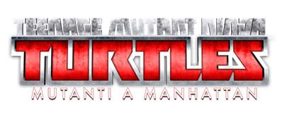 Logo del gioco Teenage Mutant Ninja Turtles: Mutanti a Manhattan per Playstation 3