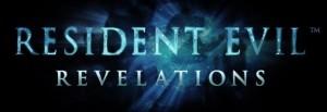 Logo del gioco Resident Evil: Revelations per Nintendo 3DS