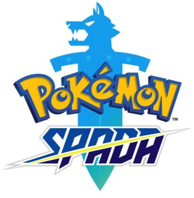 Logo del gioco Pokémon Spada per Nintendo Switch