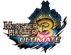 Logo del gioco Monster Hunter 3 Ultimate per Nintendo Wii U