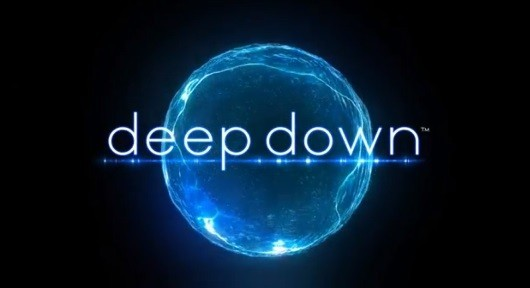 Logo del gioco Deep Down per PlayStation 4