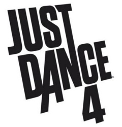 Logo del gioco Just Dance 4 per PlayStation 3