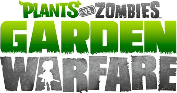 Logo del gioco Plants Vs Zombies Garden Warfare per Xbox 360