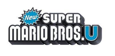 Logo del gioco New Super Mario Bros. U per Nintendo Wii U