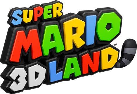 Logo del gioco Super Mario 3D Land per Nintendo 3DS