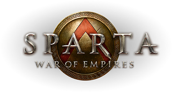 Logo del gioco Sparta: War of Empires per Free2Play