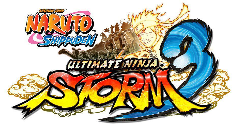 Logo del gioco Naruto Shippuden: Ultimate Ninja Storm 3 per Xbox 360