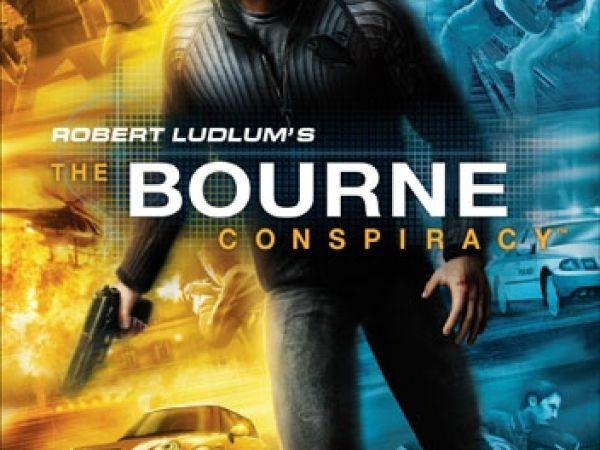 Logo del gioco The Bourne Conspiracy per Xbox 360
